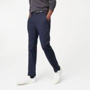 Men's J. Crew Navy Sutton Straight-Fit Flex Chino